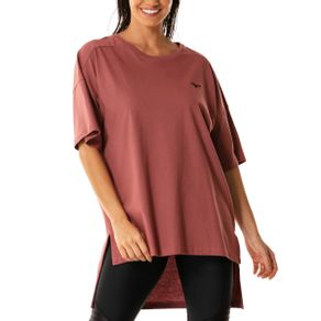 Camiseta Mizuno Kita Over Size Feminina